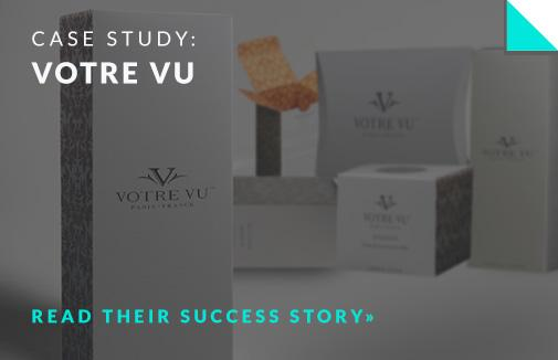 votre vu packaging case study