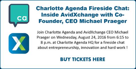 Charlotte Agenda Fireside Chat with AvidXchange CEO Michael Praeger