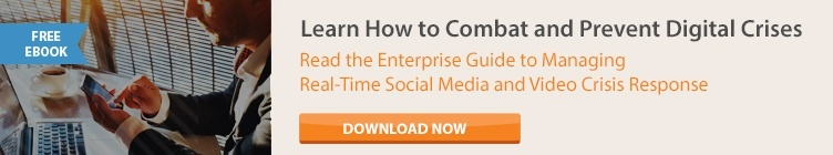 Enterprise Guide to Managing Real-Time Social Media and Video Crisis Response