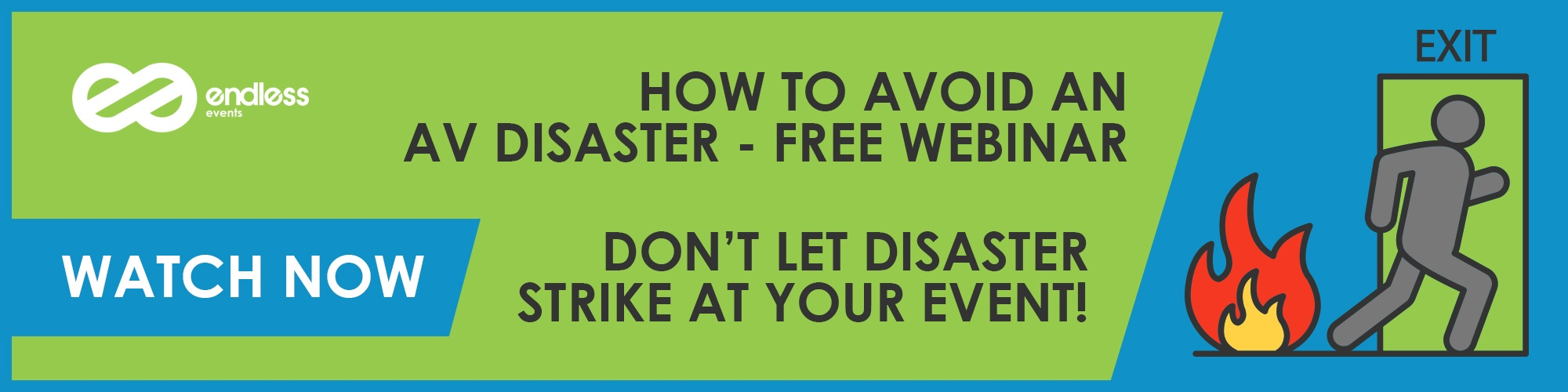 Sign Up For The How To Avoid An Event AV Disaster Webinar