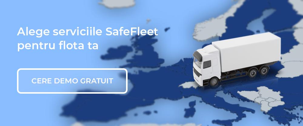 demo gratuit servicii telematice SafeFleet
