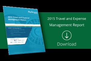 Download PayStream Advisors 2015 T&E Report