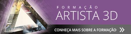Formação Artista 3D - Crie Personagens e Cenários 3D. Conheça!