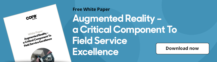White Paper Augmented Reality - A Critical Component to Field Service Excellence