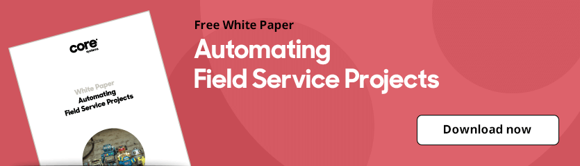 White Paper Automating Field Service Projects