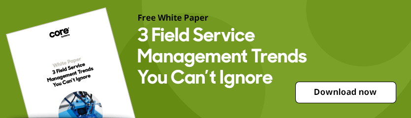 White Paper 3 Field Service Management Trends You Can't Ignore