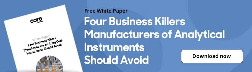 White Paper Four Business Killers Manufacturers of Analytical Equipment Should Avoid