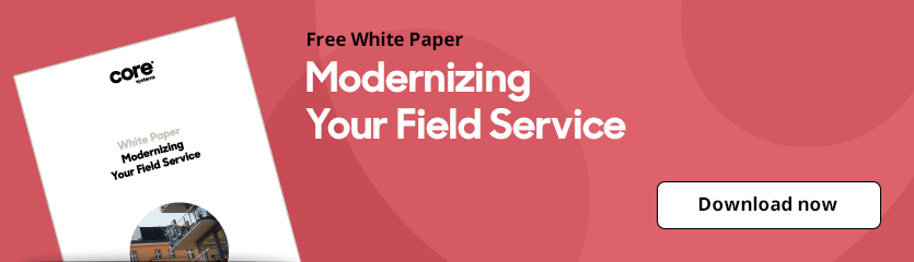 White Paper Modernizing Your Field Service