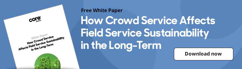 White Paper How Crowd Service Affects Field Service Sustainability in the Long-Term
