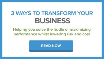 3 ways to transform your business