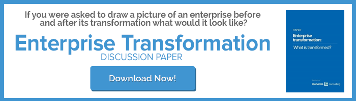 Enterprise Transformation EA