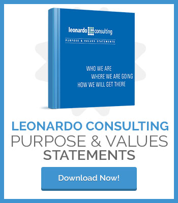 Leonardo Consulting Purpose and Values Statements