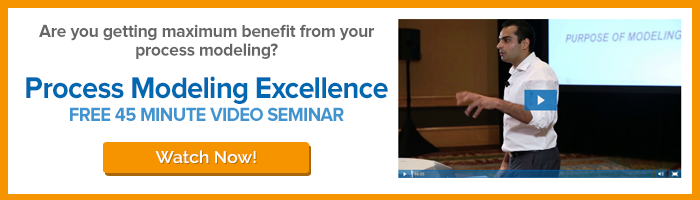 Watch Process Modeling Excellence Video Seminar - 45 minutes!