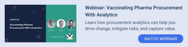 Webinar: Vaccinating Pharma Procurement With Analytics