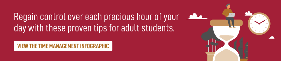 time management for adult students
