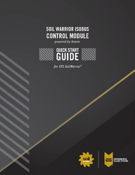 SoilWarrior ISOBUS Quick Start Guide