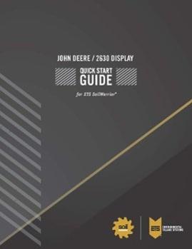 John Deere Quick Start Guide
