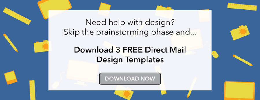 free direct mail design templates call to action