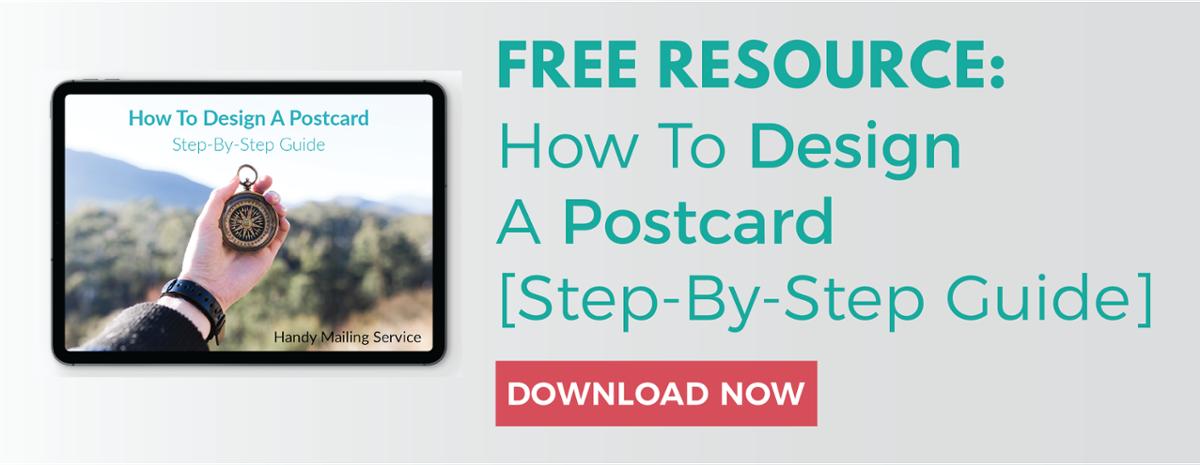 how to design a postcard-cta
