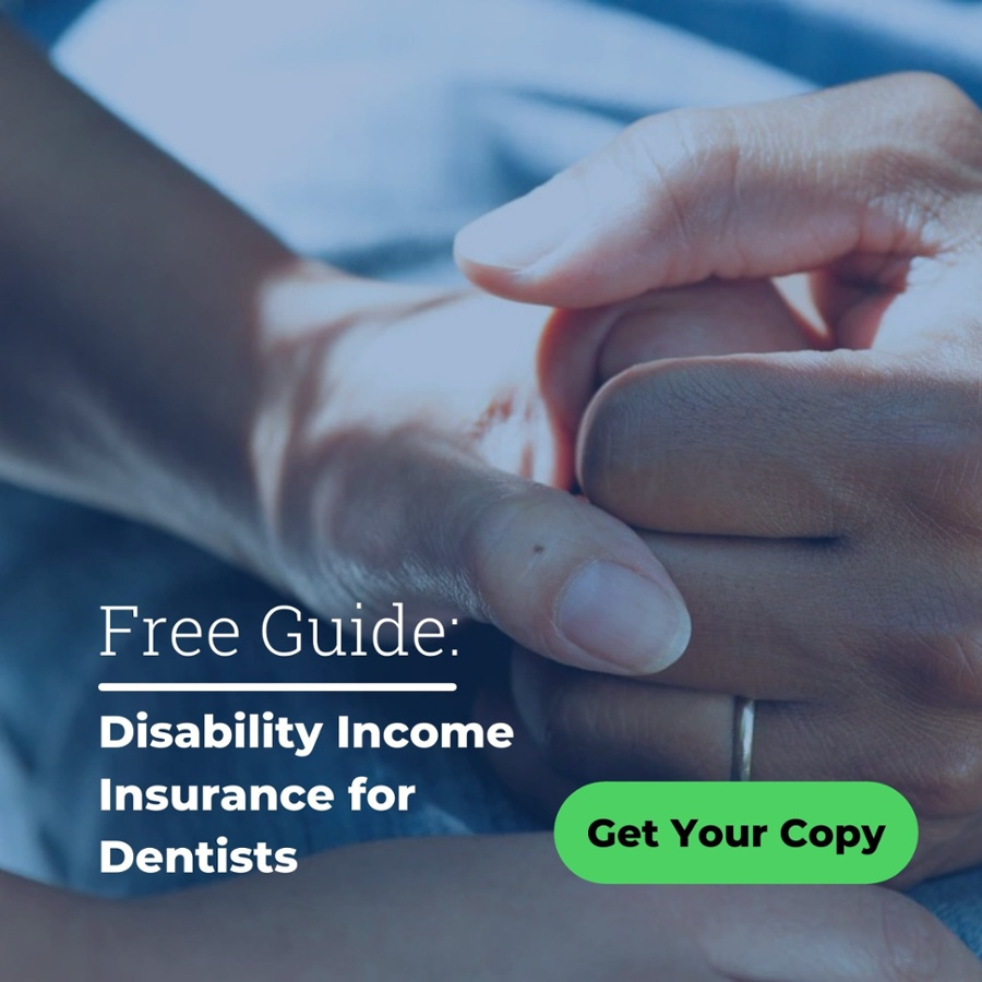 Disability income insurance for dentists