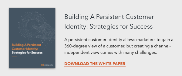 Building A Persistent Customer Identity