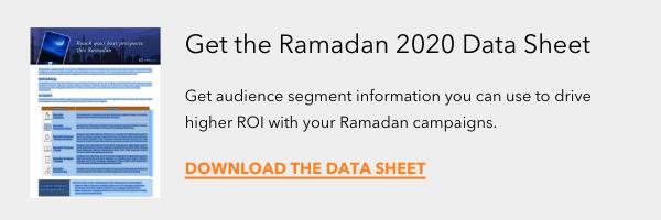 Get the Ramadan 2020 Data Sheet