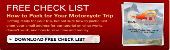 motorcycle packing, how to pack motorcycle, adventure trip, motorcycle adventure tour, ride motorcycles,