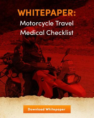 Motorcycle Travel Medical Checklist