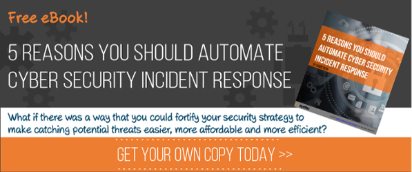 eBook: 5 Reasons You Should Automate Cyber Security Incident Response