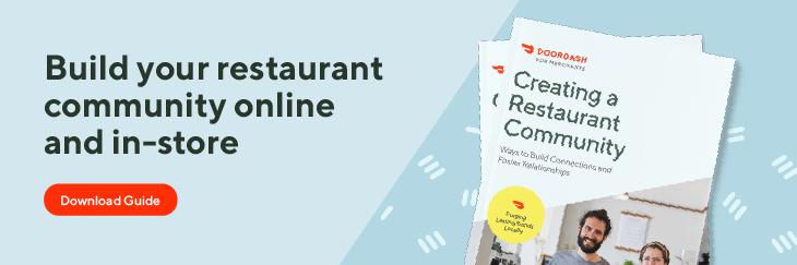 restaurant community