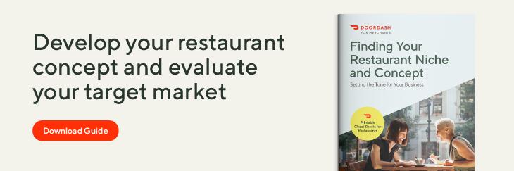 restaurant target market