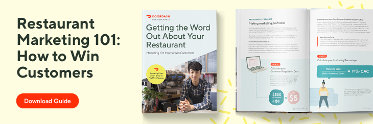 restaurant marketing 101