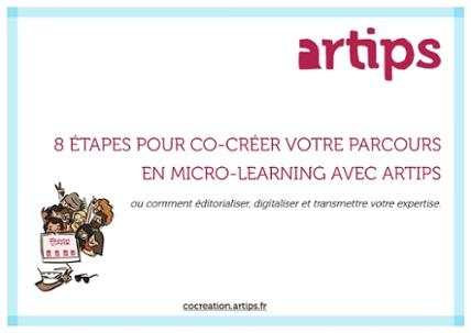 8 Étapes pour co-créer votre parcours en micro-learning avec Artips.