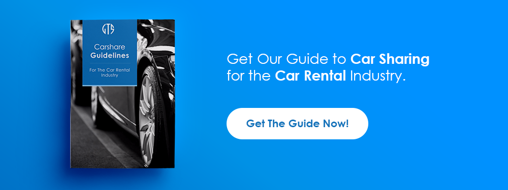 Get our guide to Car Sharing for the Car Rental Industry