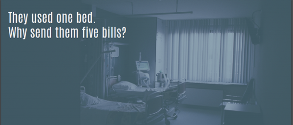 They used one bed. Why send them five bills? Better financial engagement with Loyale