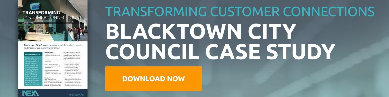 Blacktown City Council Case Study