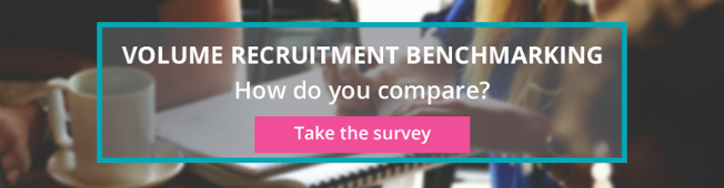 Volume recruitment benchmarking - how do you compare?