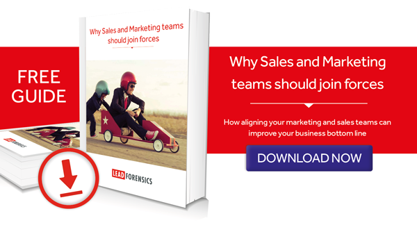 eBook on why Sales and Marketing teams need to work more closely