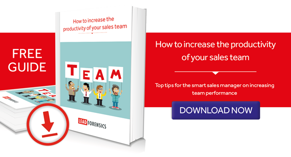 increasing sales team productivity
