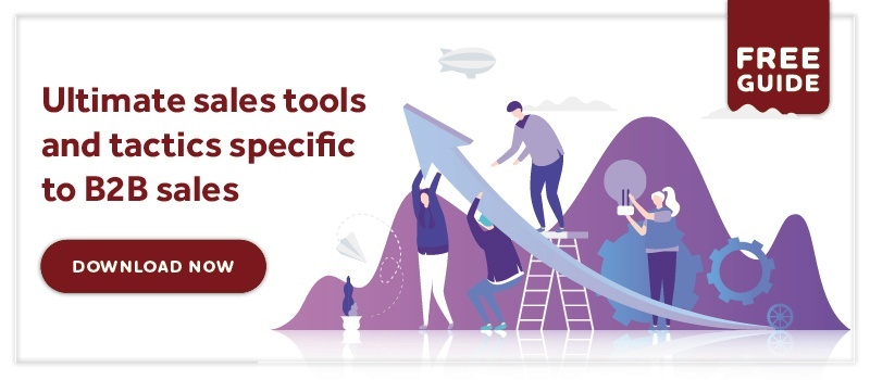 Ultimate sales tools and tactics specific to B2B sales