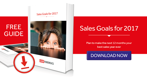 how to plan sales goals for the next year