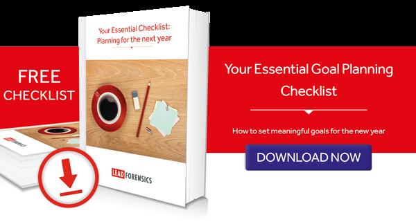 Essential Checklist - Planning goals for 2017
