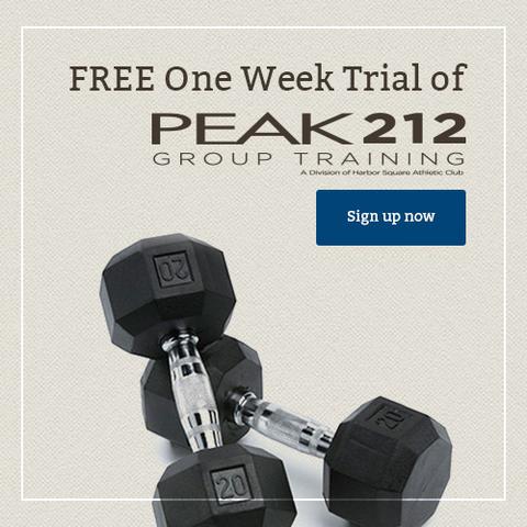 one free week of peak212