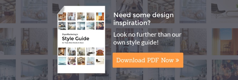 ExpoMarketing's Style Guide for Trade Show Booths and Decor