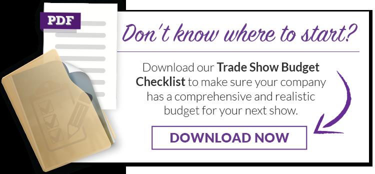 Trade Show Budget Checklist