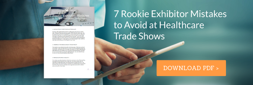 7 Rookie Mistakes Healthcare Trade Show