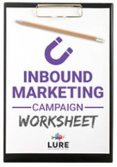 Inbound Marketing Campaign Worksheet