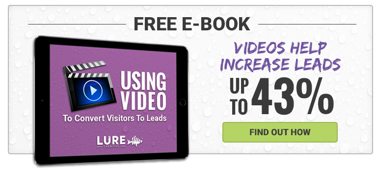 using video to convert leads