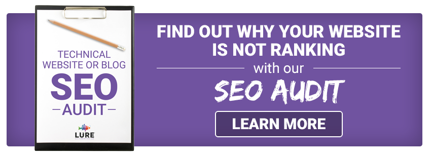 find out why your website is not ranking with our SEO audit