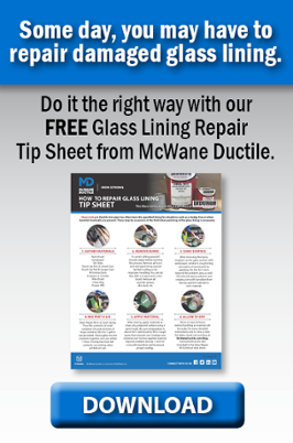 How to Repair Glass Lining in DI Pipe